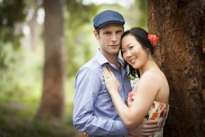 engagement shoot for julie and simon